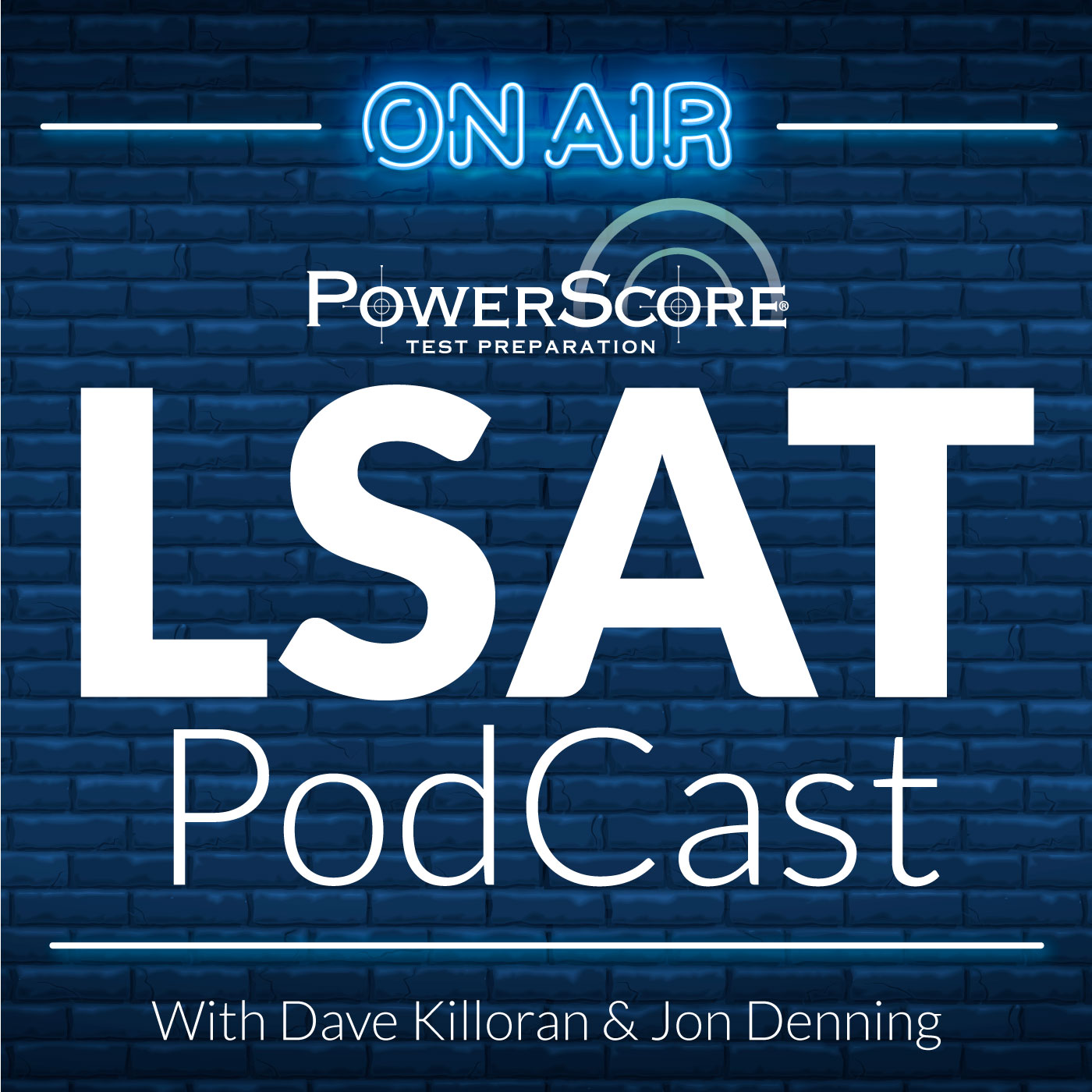 The PowerScore LSAT PodCast show art