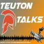 Artwork for Teuton Talks with Taylor and KSU Volleyball Coach Susan Fritz