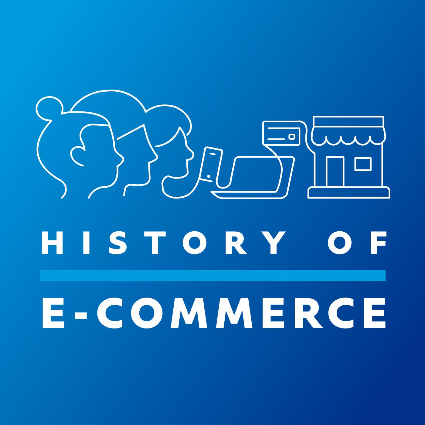 History of E-commerce show art