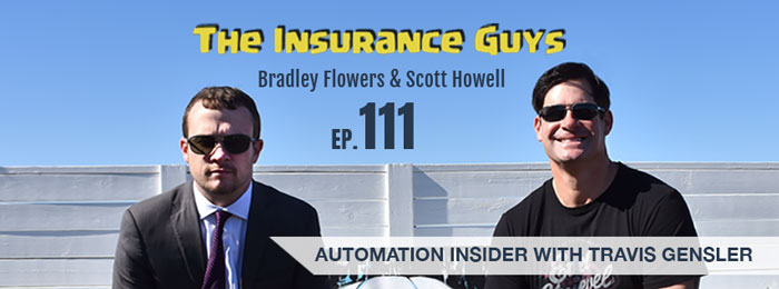 Travis Gensler on the Insurance Guys Podcast