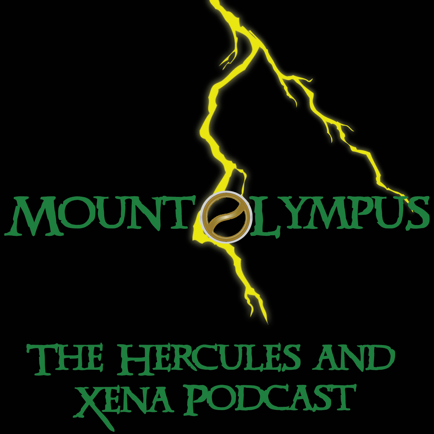 Mount Olympus - The Hercules and Xena Podcast show art