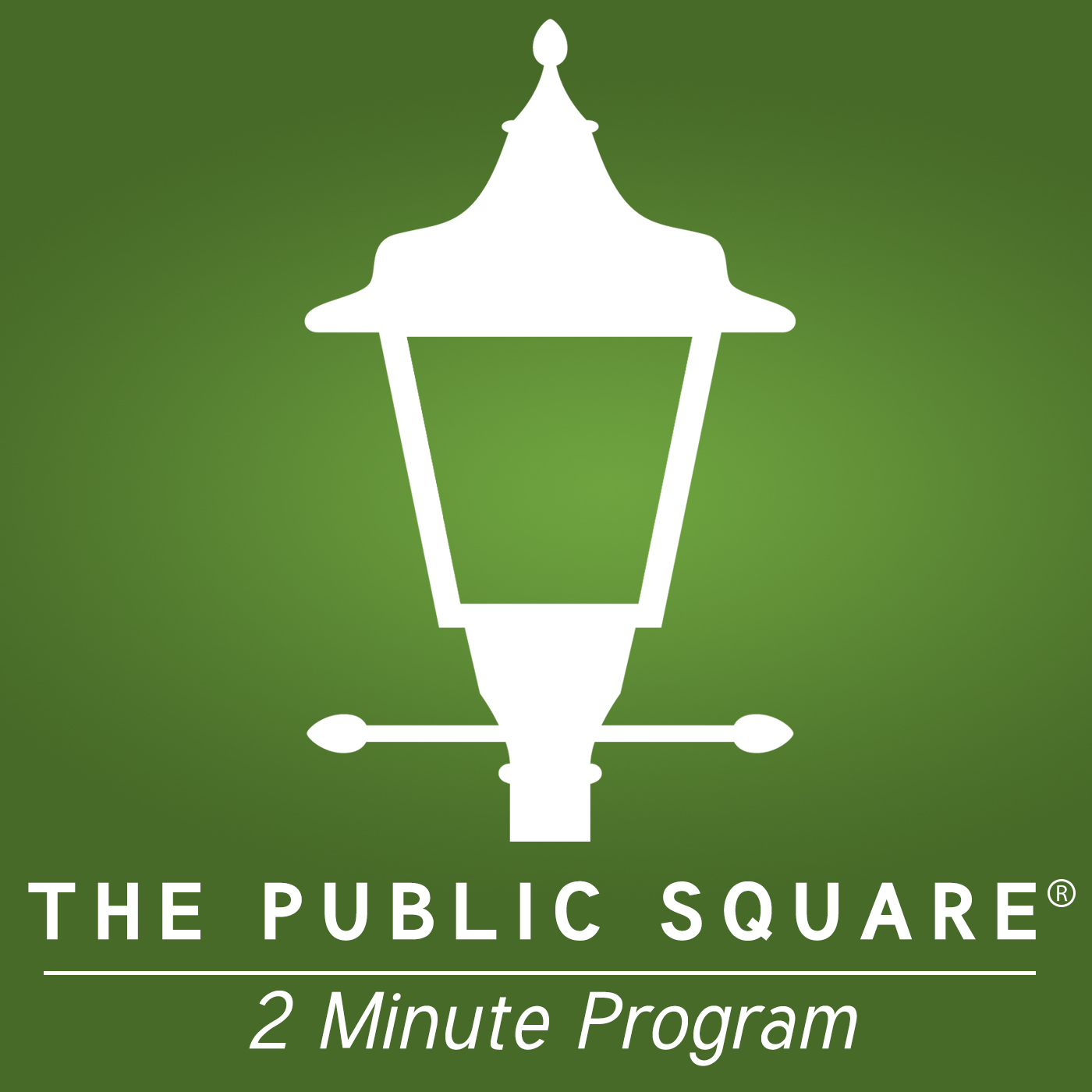 The Public Square - Two Minute Daily show art
