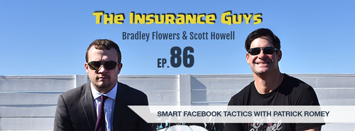 Patrick Romey from Facebook's Team Insurance on Insurance Guys Podcast