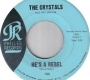 Artwork for The Crystals - He's A Rebel- Time Warp Song of The Day