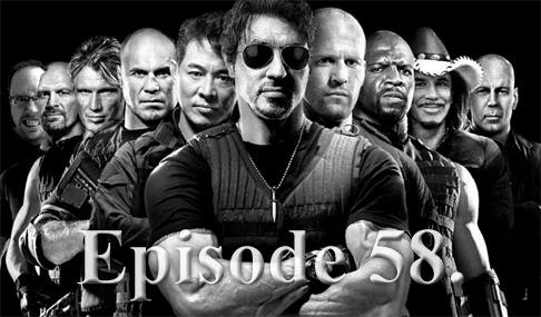 Episode 58: Ginger V.S. The Expendables Too