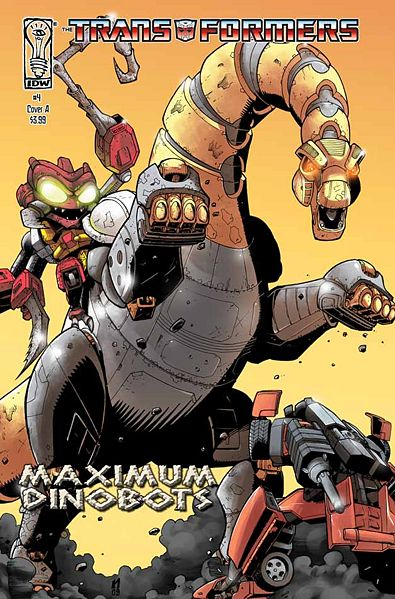 Iaconic Reviews Maximum Dinobots #4