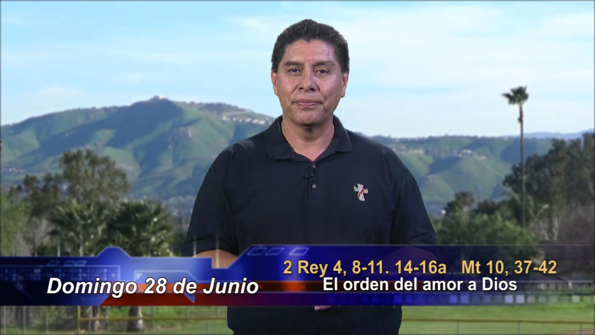 """Artwork for Dios te Habla con Dn. Alfredo Vargas; Tema: """"El orden del amor a Dios"""""""