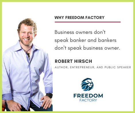Robert Hirsch, Tyler Tysdal's business partner from Freedom Factory