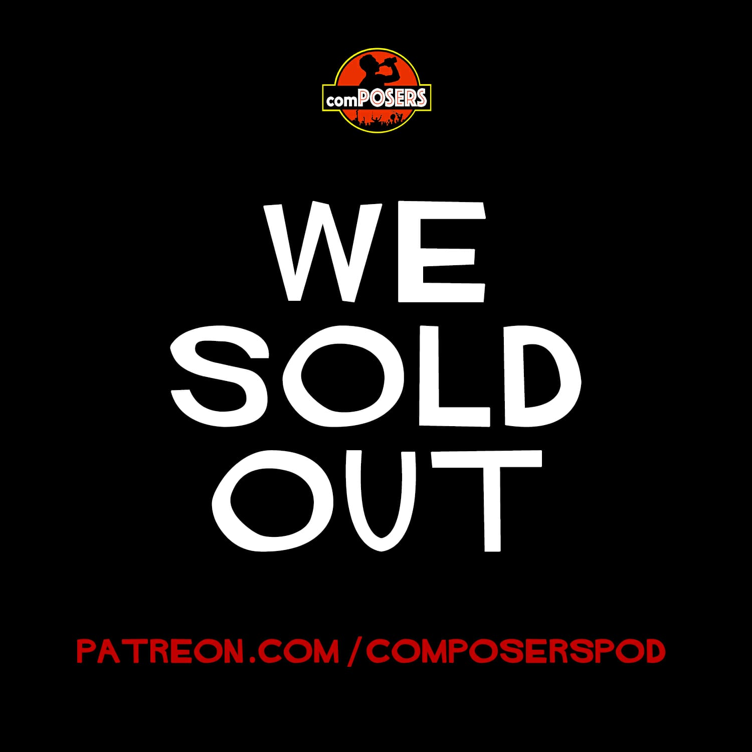 we sold out