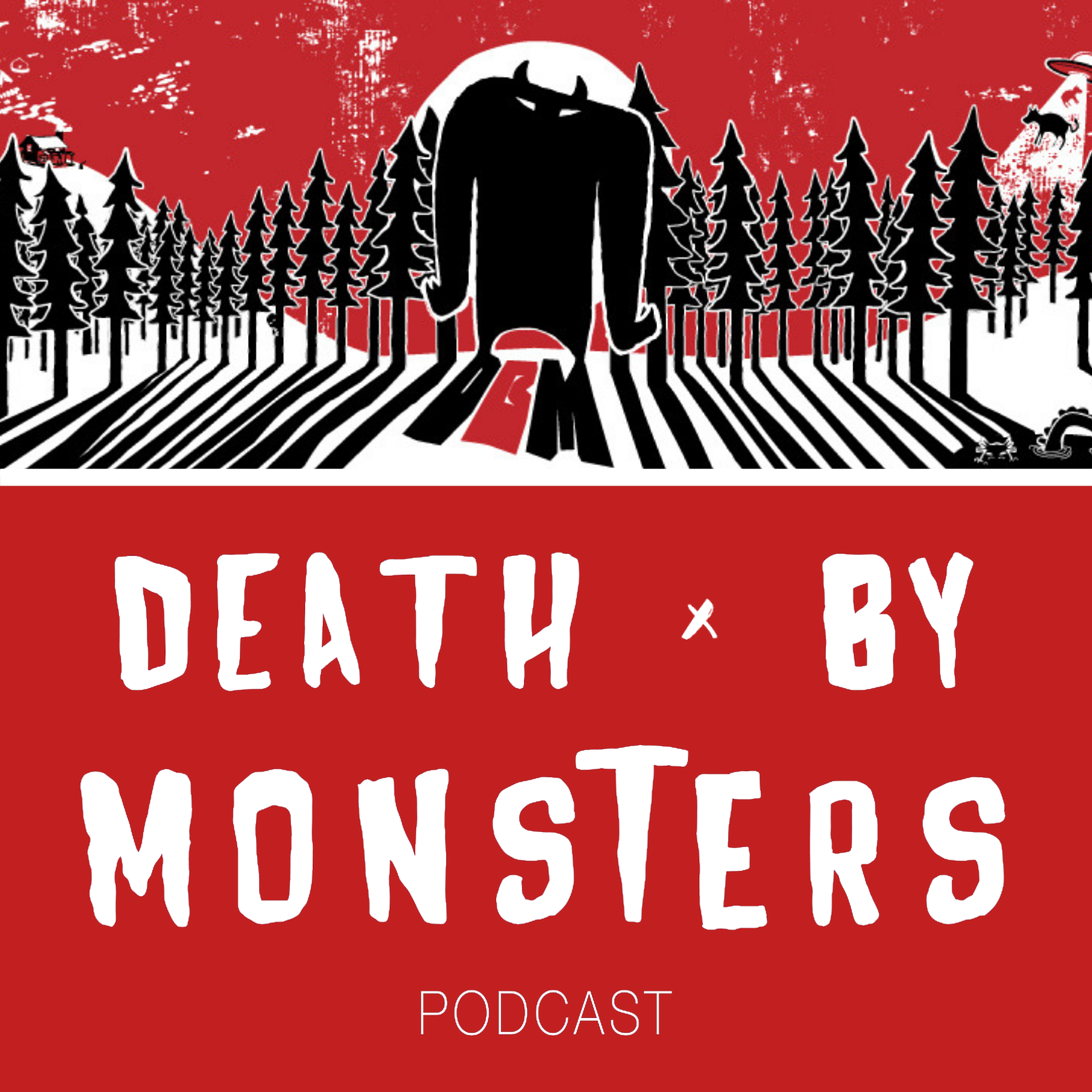 Death by Monsters show art