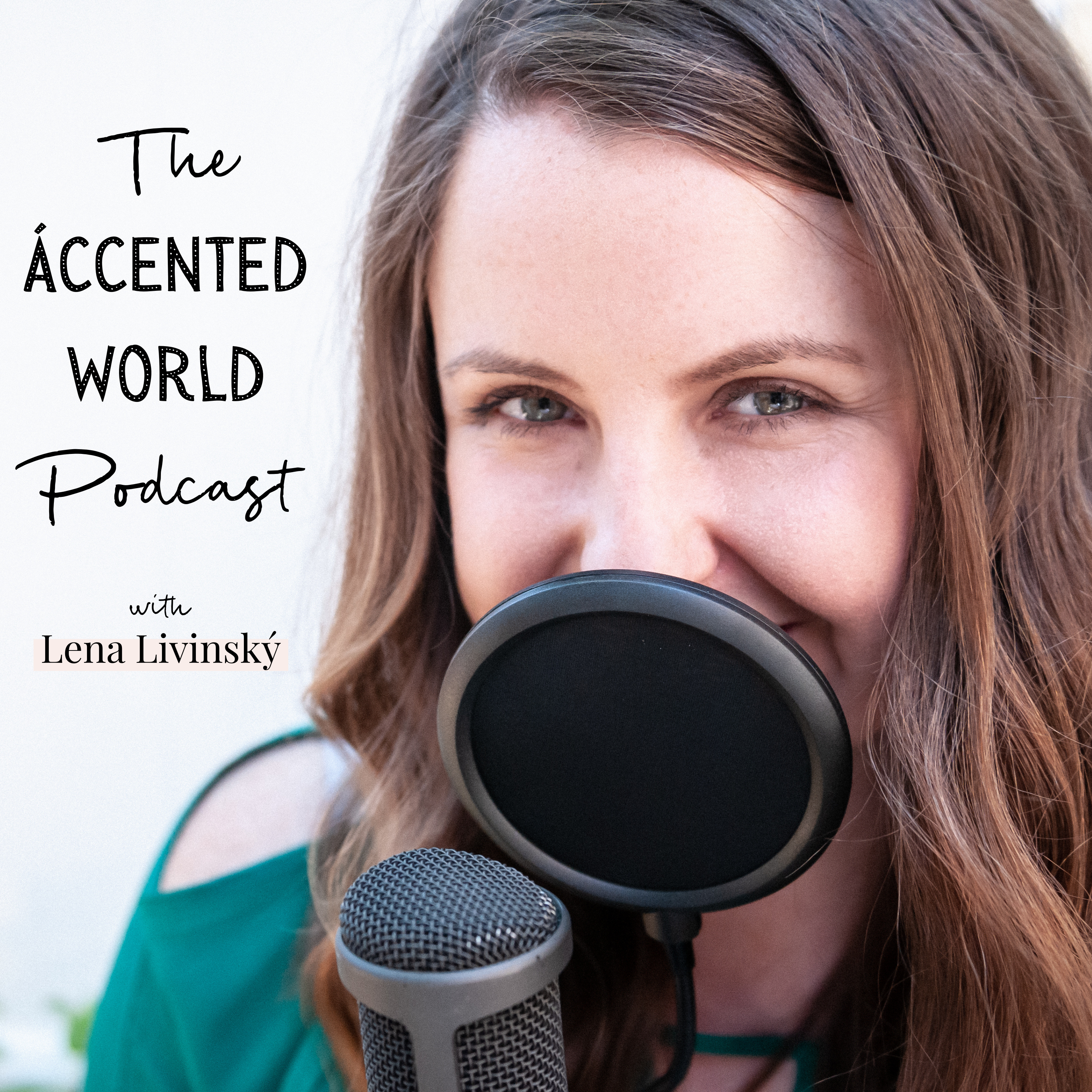 The Accented World Podcast show art