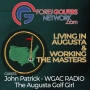 Artwork for Living In Augusta, Working The Masters