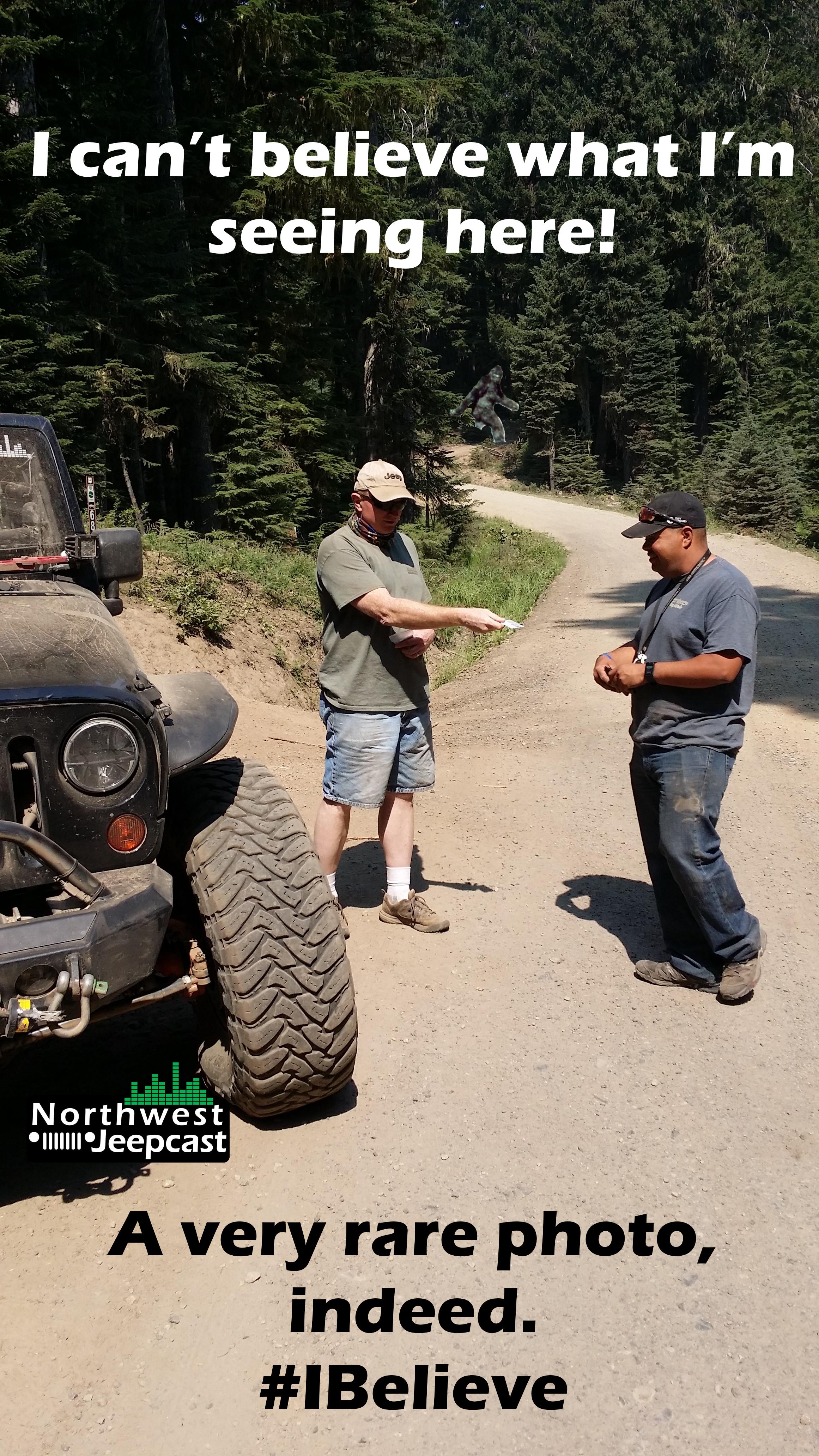 Northwest Jeepcast - A Jeep Podcast - Gary working