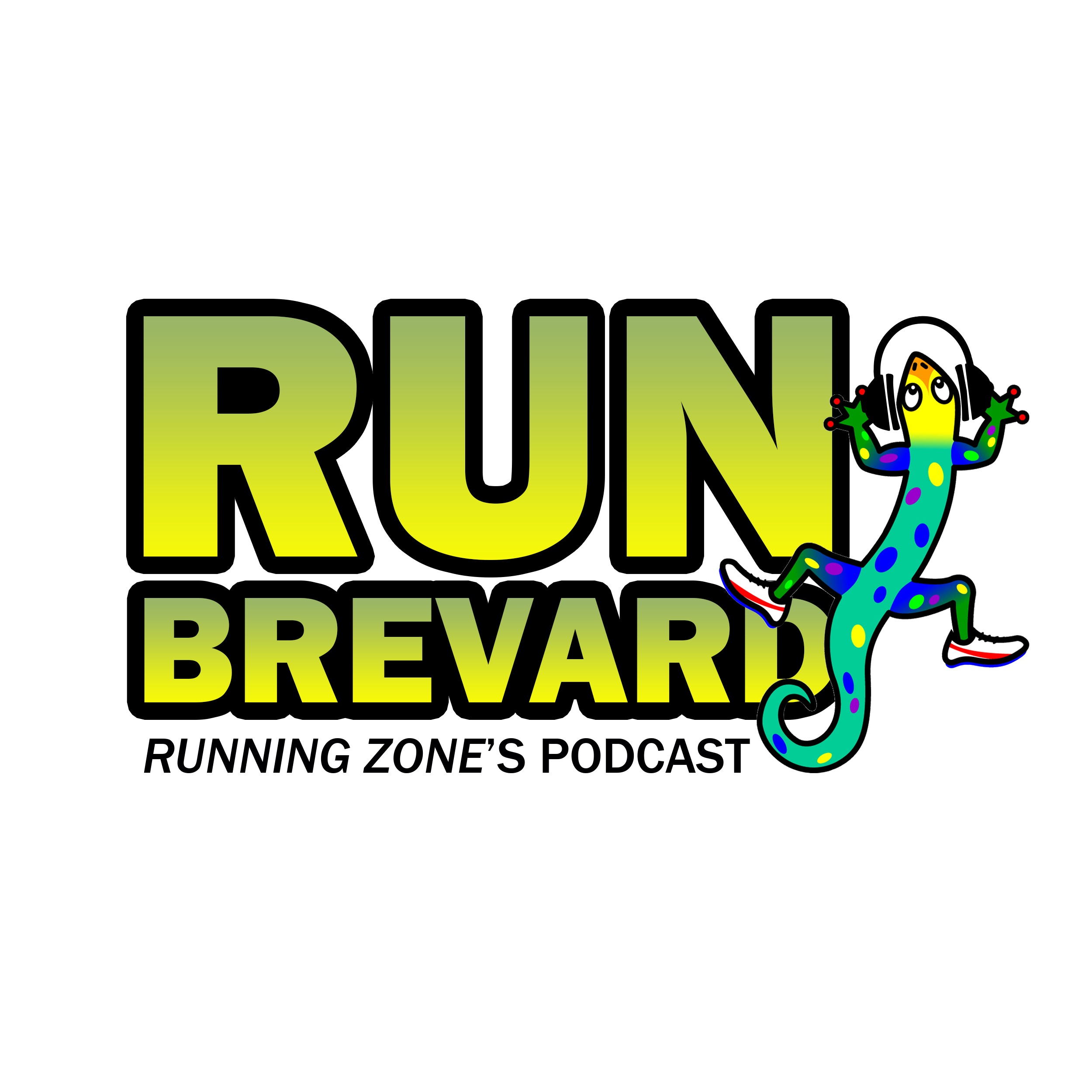 Run Brevard - Running Zone's podcast show art