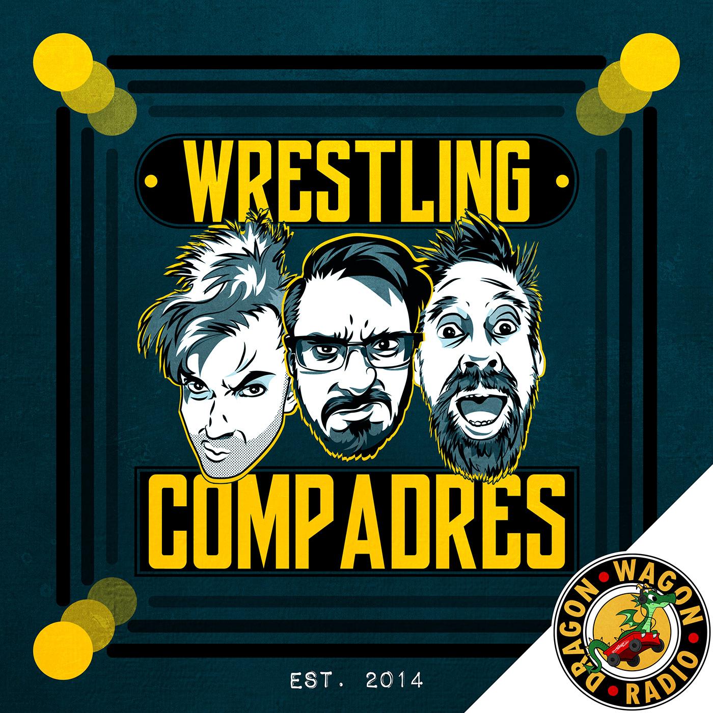 Wrestling Compadres show art