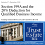 Artwork for Section 199A and The 20% Deduction for Qualified Business Income