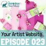 Artwork for 023: Your Artist Website with Nate Cooper