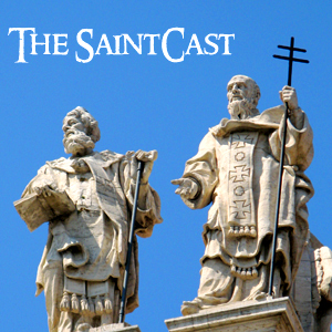 SaintCast Episode #74, Becoming a Patron Saint, miracle of San Gennaro, patron of lost taste & princesses, +1.312.235.2278
