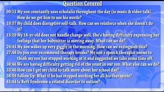 Ask Dr. Doreen - September 25th, 2013