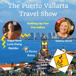 c3041a06303 Puerto Vallarta Travel Show Podcast: Buying Swimsuits in Puerto Vallarta at La  Sirena Reina, an Interview with Robina Oliver