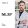 Artwork for Growth, marketing, branding & recruitment with Russ Perry from Design Pickle