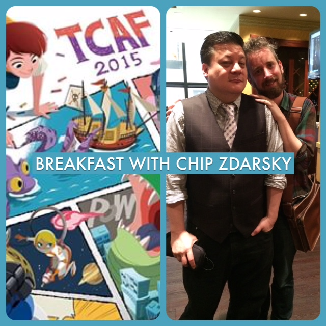 Episode 607 - TCAF: Breakfast with Chip Zdarsky!