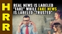 """Artwork for REAL news is labeled FAKE while fake news is labeled """"trusted"""""""