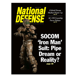 Artwork for SOCOM 'Iron Man' Suit: Pipe Dream or Reality? — May 2015