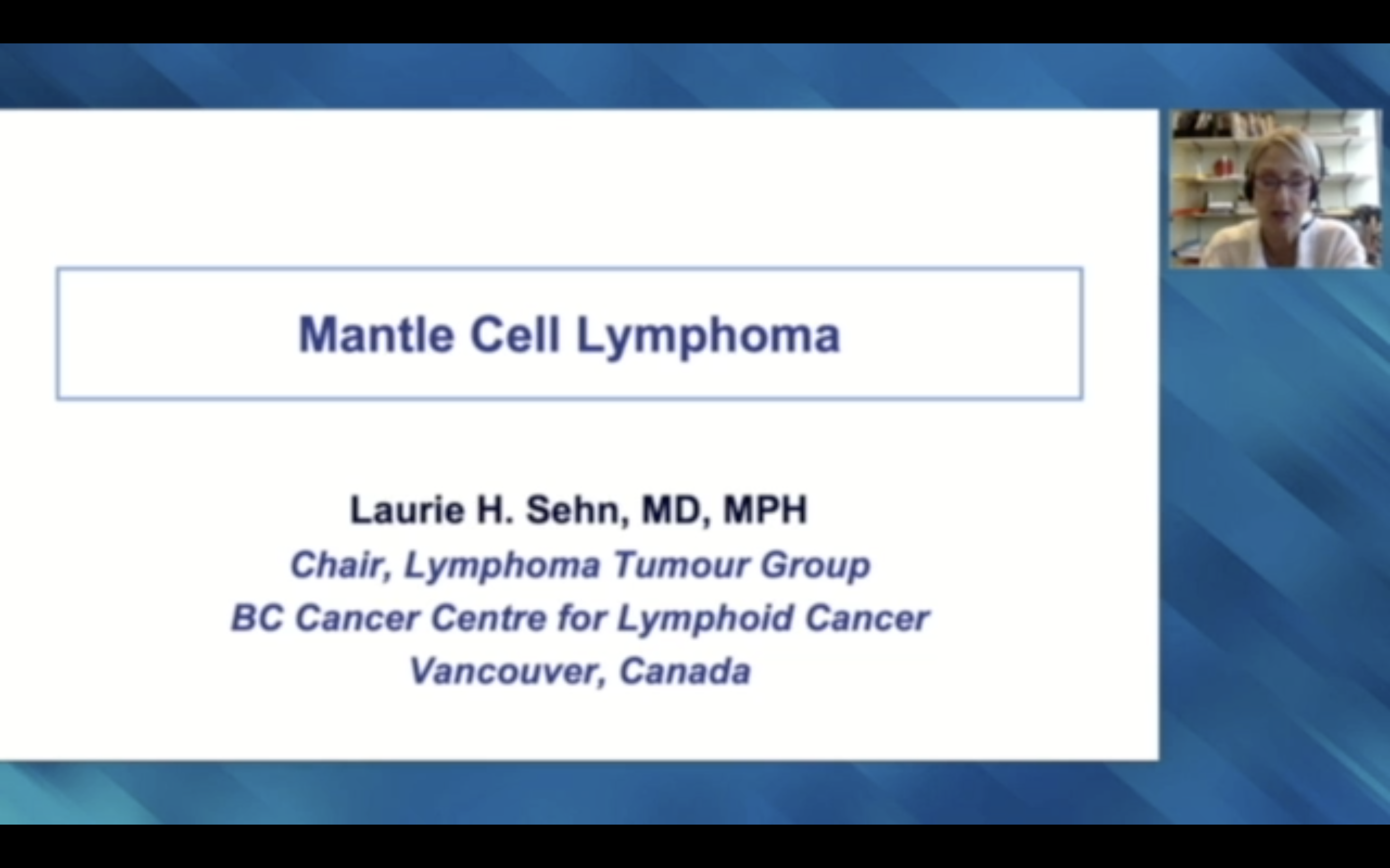 Artwork for Mantle Cell, Diffuse Large B-Cell and Hodgkin Lymphoma | Companion virtual lecture series from a live event held adjunct to the 2021 ASCO Annual Meeting