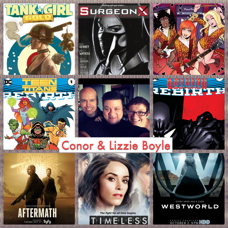Episode 723 - NYCC Pre-Show w/ Conor/Lizzie Boyle!