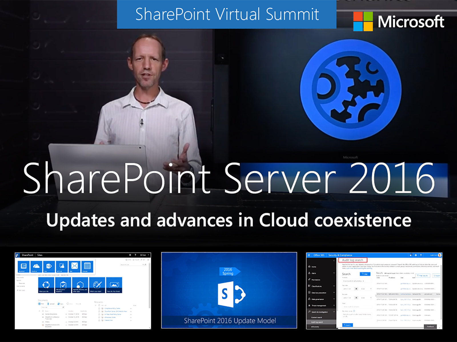 Artwork for SharePoint Server 2016 updates and advances in Cloud coexistence