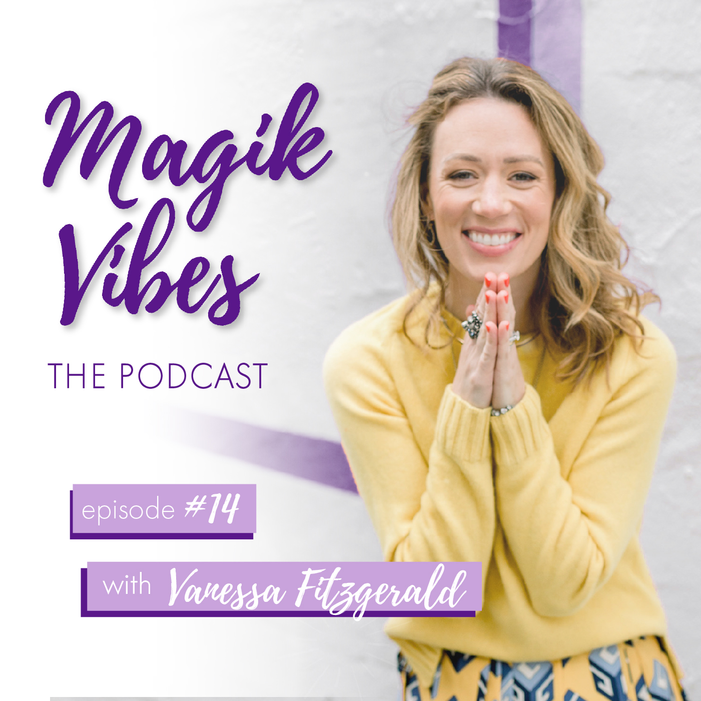 14. Vanessa Fitzgerald | Address your Stress! And Heal your Body show art