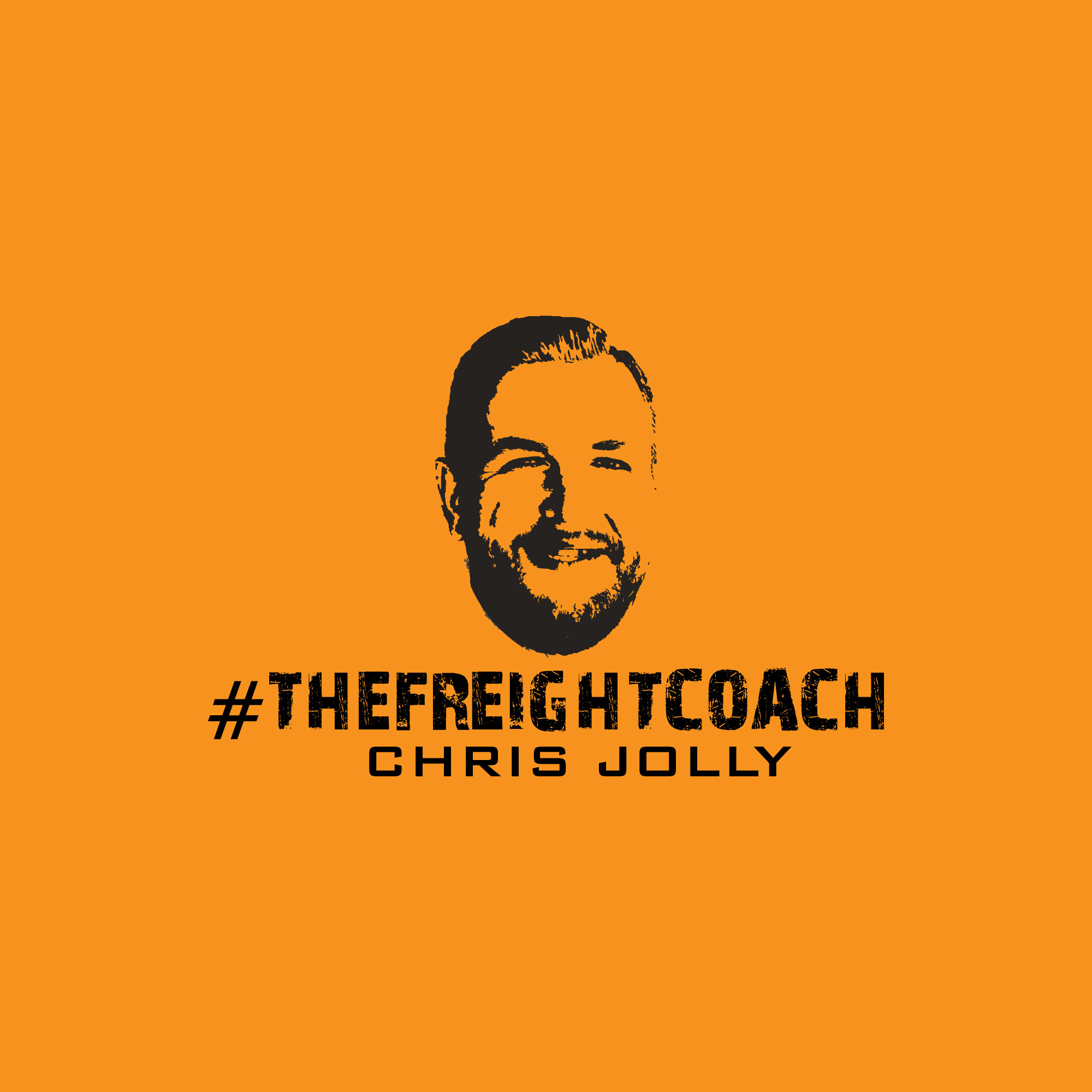 Coffee w/#The Freight Coach show art