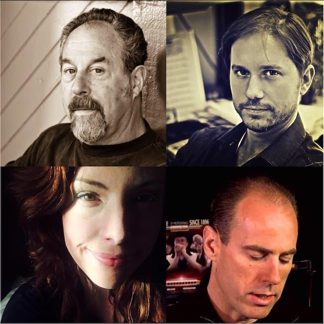 Unstarving Musician Episode 100, Featuring Mark Wenner of the Nighthawks, Mike Dawson of Modern Drummer Magazine, Vocalist Lisa Leuschner Andersen, David Barrett of Blues Harmonica
