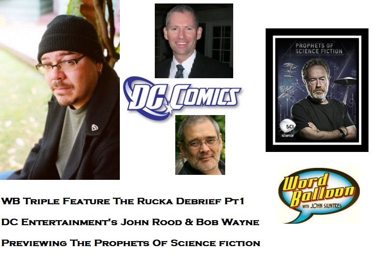 Word Balloon Podcast ep 374 The Rucka Debrief Pt 1 DCs October Surprise Prophets Of Science Fiction