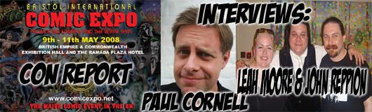 Episode 140 - Bristol Comic Expo - Leah Moore, John Reppion & Paul Cornell