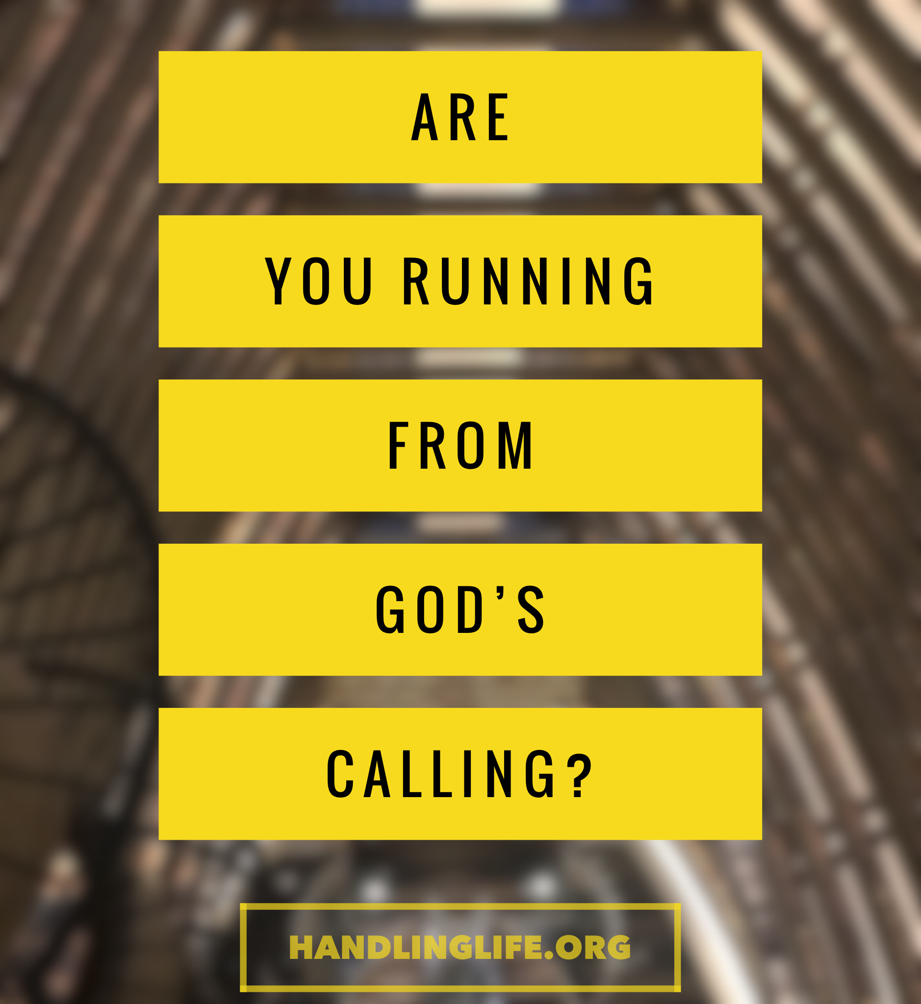 Artwork for Are you running from God's calling?