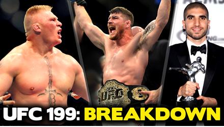 UFC 199 REACTION: Bisping Wins, Lesnar Returns, Ariel Helwani Banned?!
