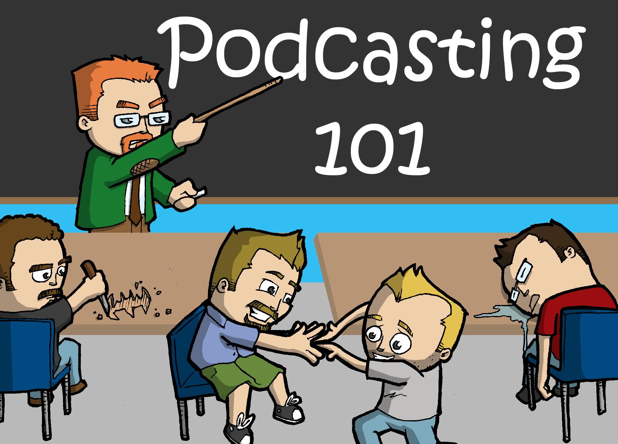 Podcasting 101 / Social Media / Marketing / Content Marketing / Twitter / Blogging / Tumblr / Facebook / LinkedIn / Google+ / Inspire / Teach / Writing / Publishing