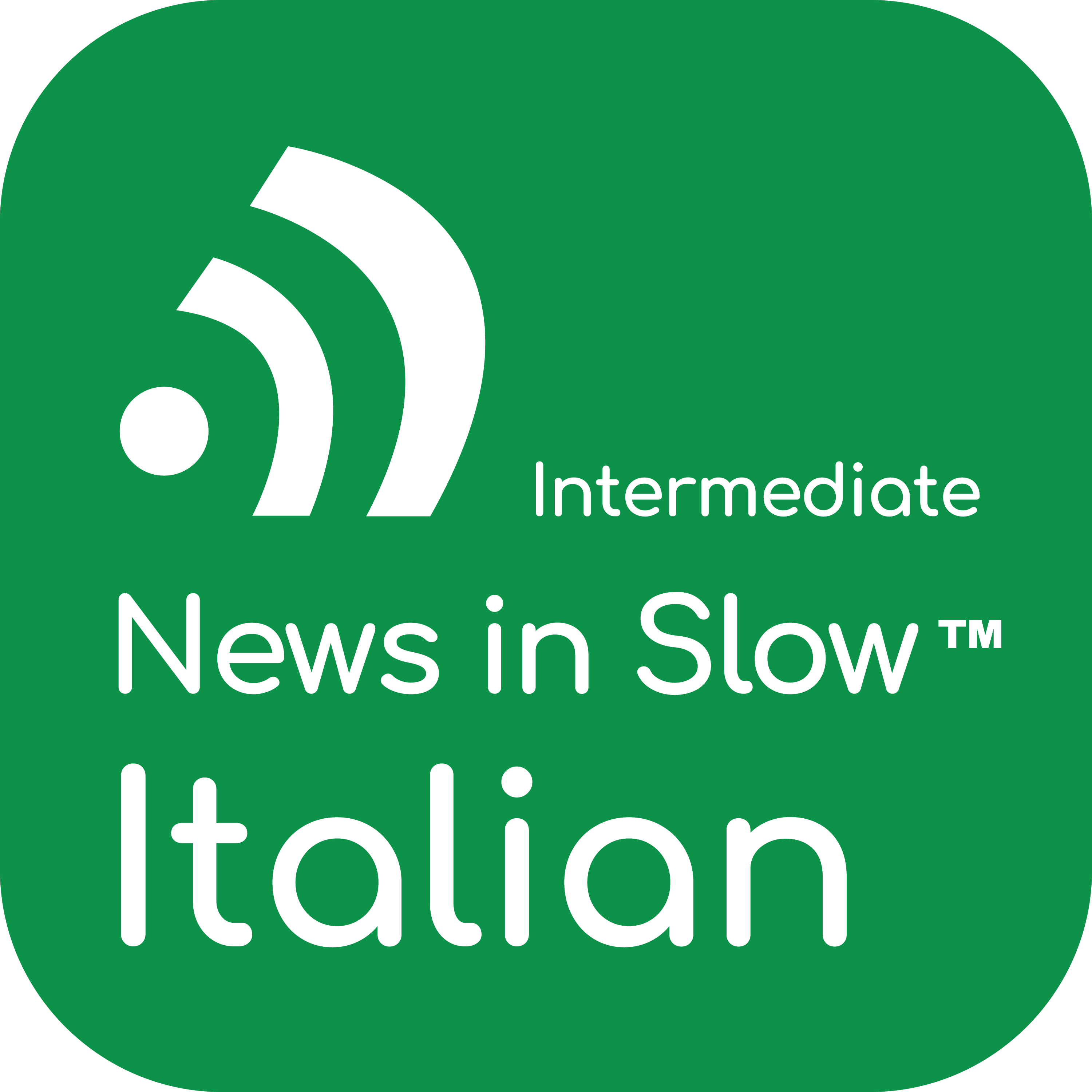 News in Slow Italian #445- Studying Italian while Listening to the News