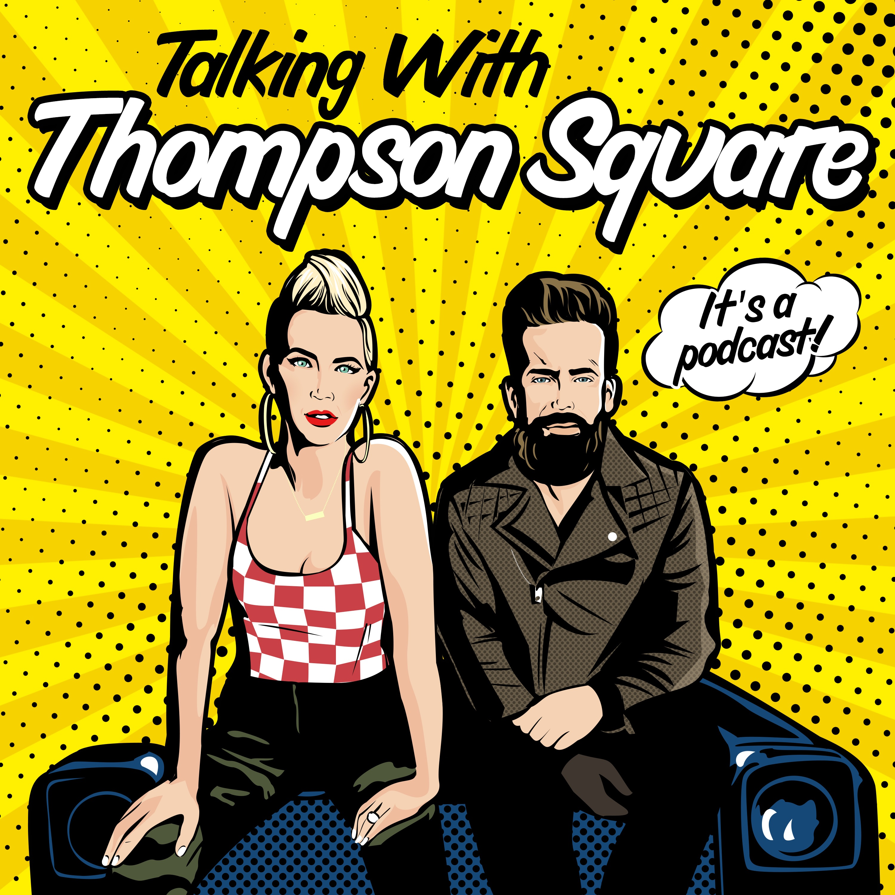 Talking with Thompson Square show art