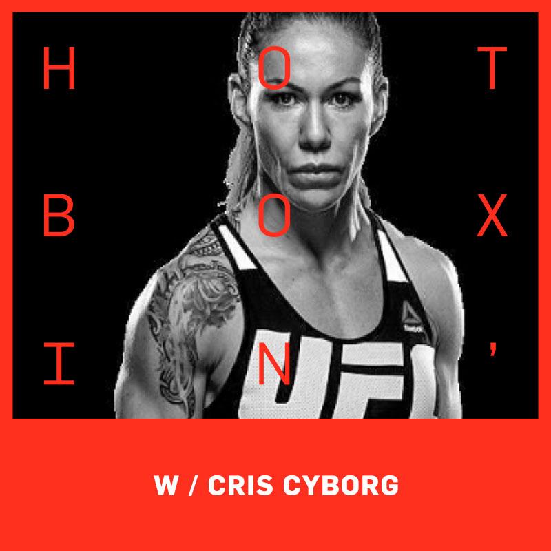 UFC Champion Cris Cyborg