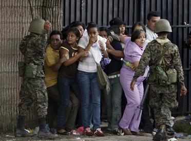 Honduras  - Israel Salinas habla  (Spanish)