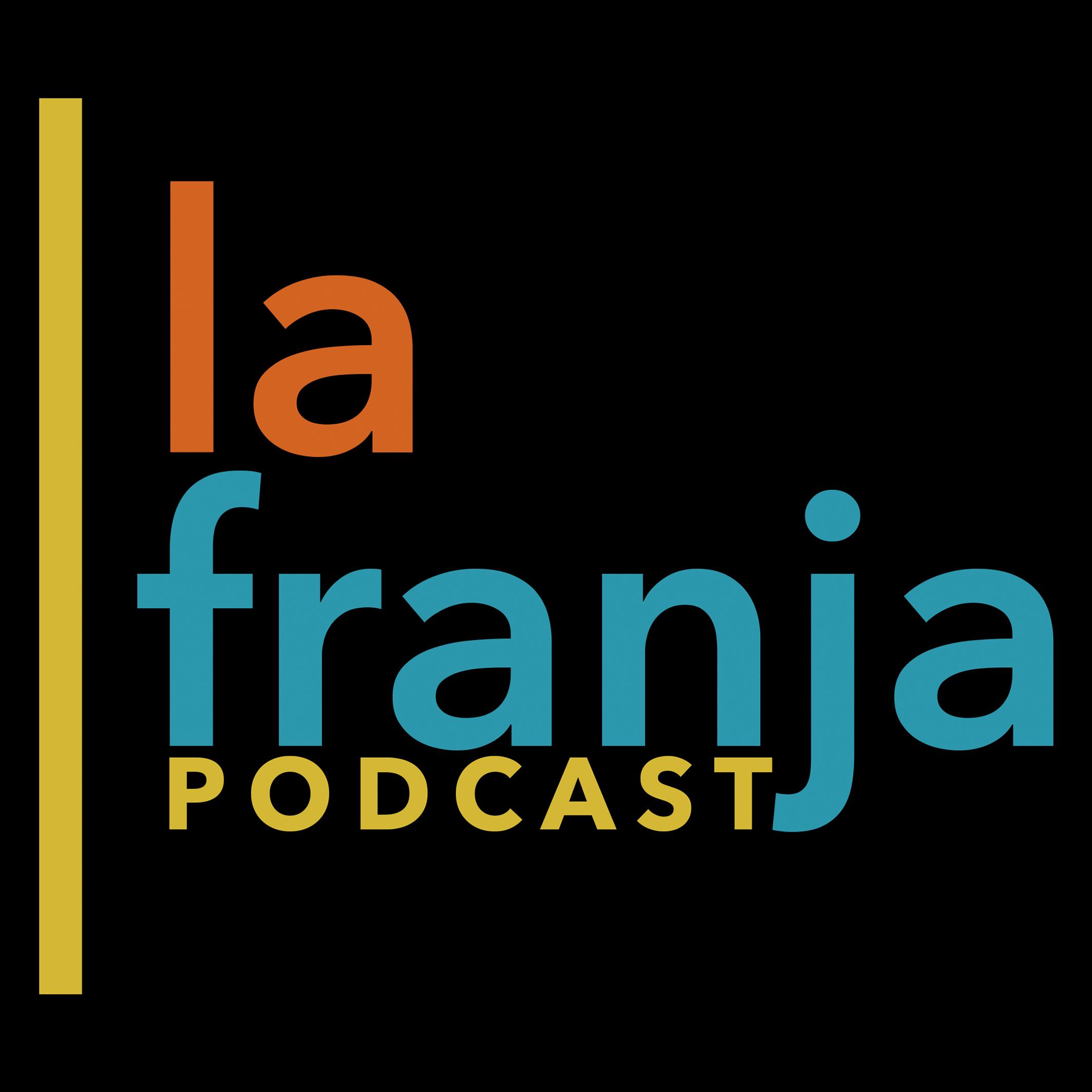 La Franja Podcast show art