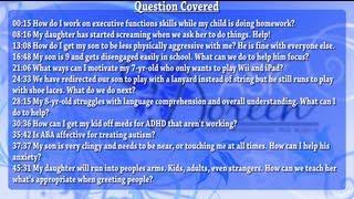 Ask Dr. Doreen - October 2nd, 2013