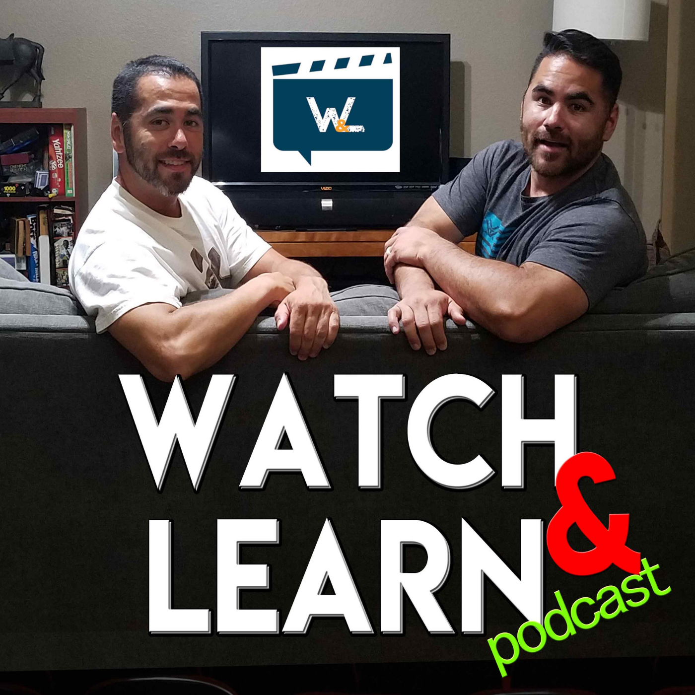 Watch and Learn | Learning Life Lessons from Movies Podcast show art