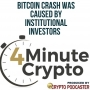 Artwork for Bitcoin Crash Was Caused By Institutional Investors
