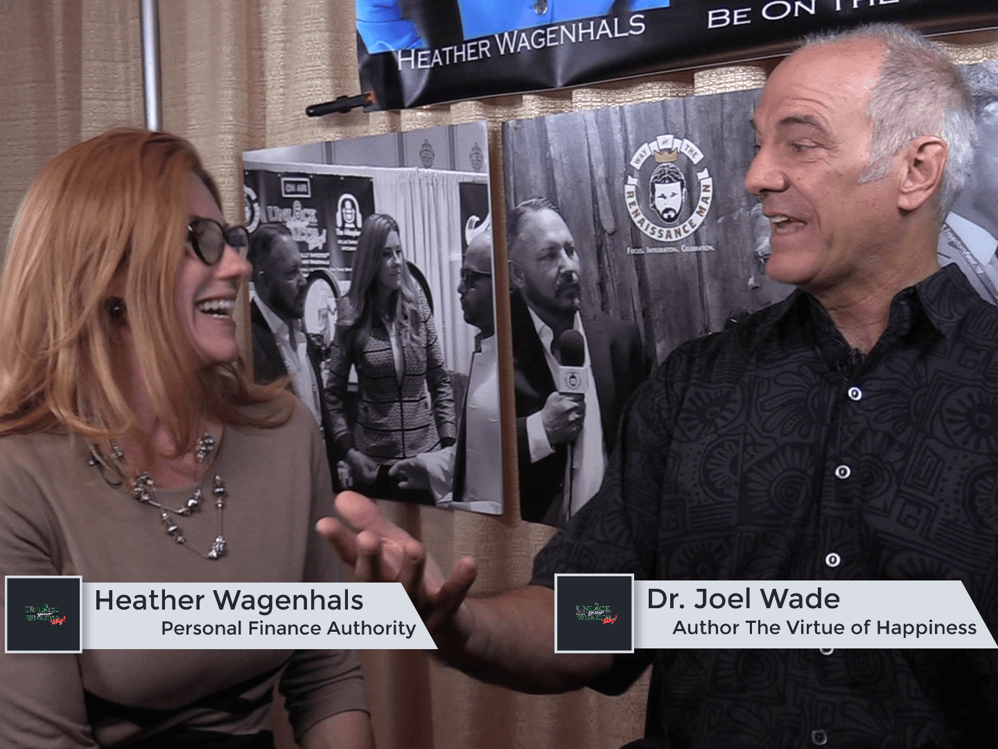 Artwork for Defining the Happiness - Wealth Connection Featuring Dr. Joel Wade