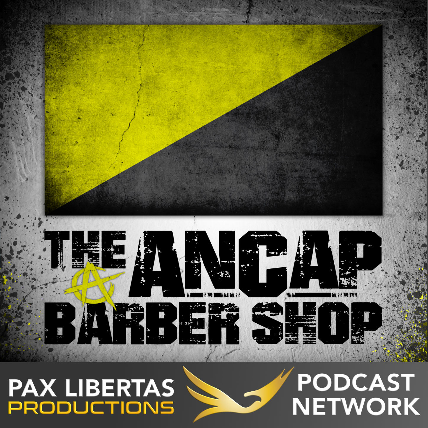 The Ancap Barber Shop show art