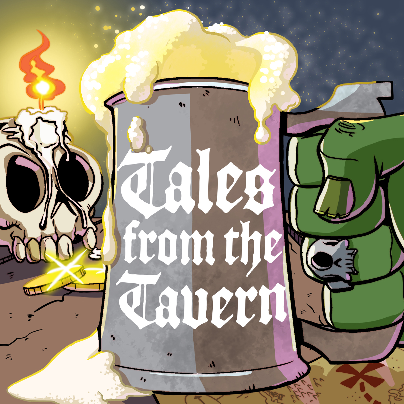 Tales from the Tavern show art